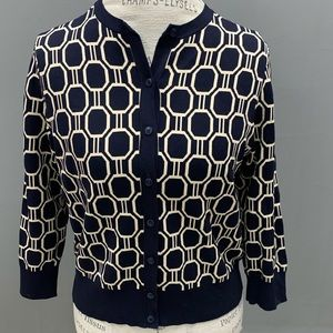 Ann Taylor fitted cardigan ***mis marked as a L**